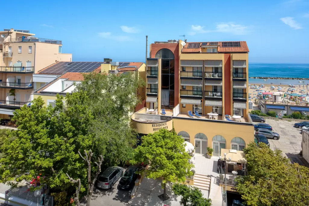 Residence hotel rex a cattolica residence cattolica sul - Residence cattolica con piscina ...